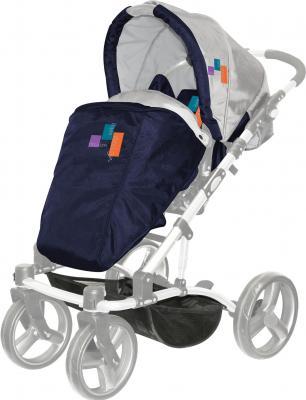 Детская универсальная коляска Lorelli Laguna (Blue Fashion) - прогулочная