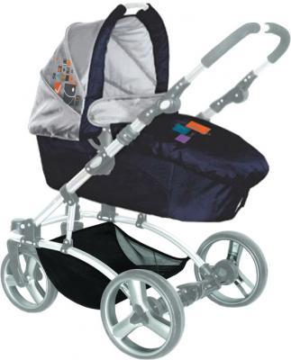 Детская универсальная коляска Lorelli Laguna (Blue Fashion) - люлька
