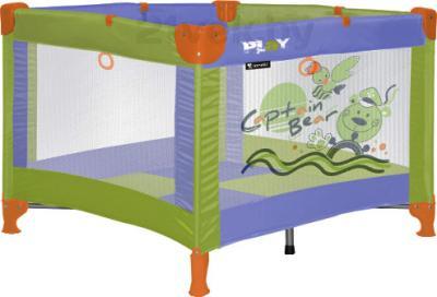 Игровой манеж Lorelli Play (Violet Green Captain Bear) - общий вид