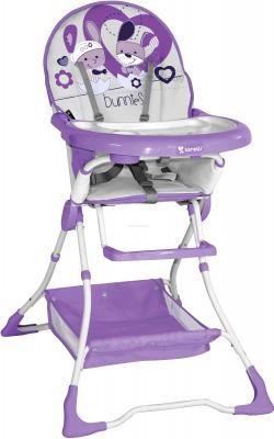 Стульчик для кормления Lorelli Bravo (Violet Bunnies) - общий вид