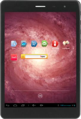 Планшет Inch Regulus ITWGN785 (8GB, 3G) - фронтальный вид