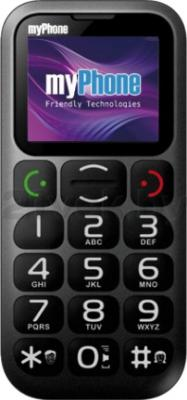 Мобильный телефон MyPhone 1045 (черный) - общий вид