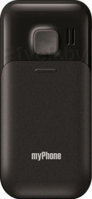 Мобильный телефон MyPhone 1045 (черный) - задняя панель