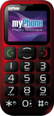 Мобильный телефон MyPhone 1045 (красный) - общий вид