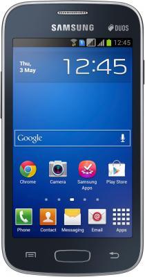 Смартфон Samsung Galaxy Star Plus / S7262 (черный) - общий вид