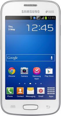 Смартфон Samsung Galaxy Star Plus / S7262 (белый) - общий вид