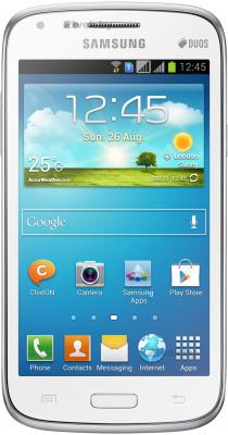 Смартфон Samsung I8262 Galaxy Core  (White) - общий вид