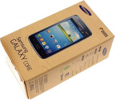Смартфон Samsung I8262 Galaxy Core (Black) - упаковка