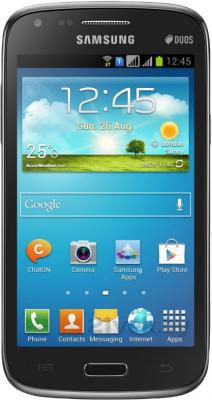 Смартфон Samsung I8262 Galaxy Core (Black) - общий вид