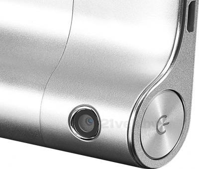 Планшет Lenovo Yoga Tablet 10 B8000 (59387964) - кнопка включения и камера