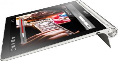 Планшет Lenovo Yoga Tablet 10 B8000 (59387964) - общий вид на подставке