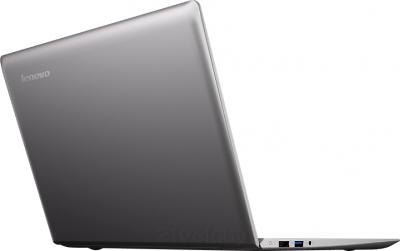 Ноутбук Lenovo IdeaPad U330p (59391670) - вид сзади