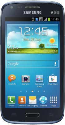 Смартфон Samsung I8262 Galaxy Core Blue (GT-I8262MBASER) - общий вид