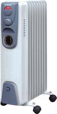 Масляный радиатор Scarlett SC-059 (White) - общий вид