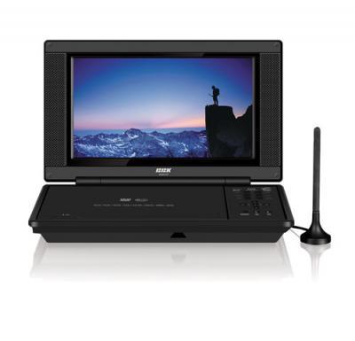 Портативный DVD-плеер BBK DL 8515TI Black - общий вид