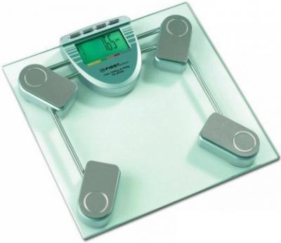 Напольные весы электронные FIRST Austria FA-8006 (бирюзовый) - общий вид