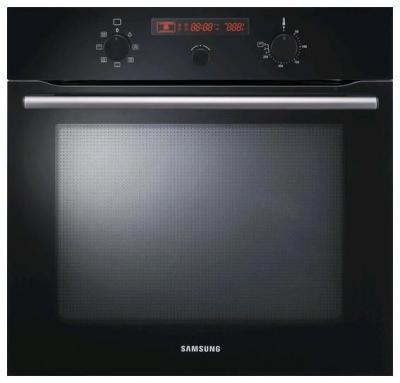 Электрический духовой шкаф Samsung BF641FGB - вид спереди
