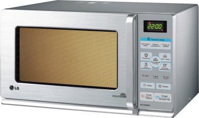 Микроволновая печь LG MS2548DRKS - вид спереди