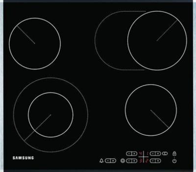 Электрическая варочная панель Samsung C61R1CDMST - вид сверху