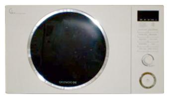 Микроволновая печь Daewoo KOG-8A1RW - вид спереди