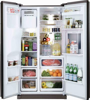 Холодильник с морозильником Samsung RS21HKLMR - общий вид