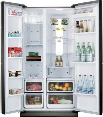 Холодильник с морозильником Samsung RS-21 HNLMR - общий вид
