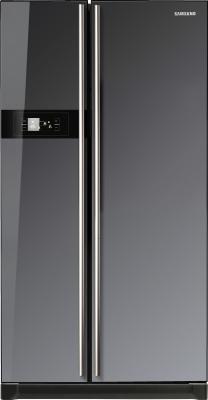 Холодильник с морозильником Samsung RS-21 HNLMR - вид спереди