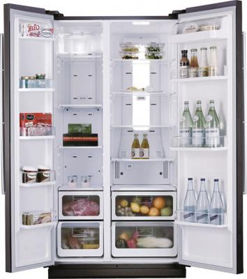 Холодильник с морозильником Samsung RS21HNLBG - общий вид