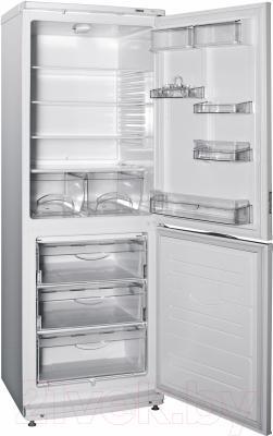 Холодильник с морозильником ATLANT ХМ 4012-022 - внутренний вид