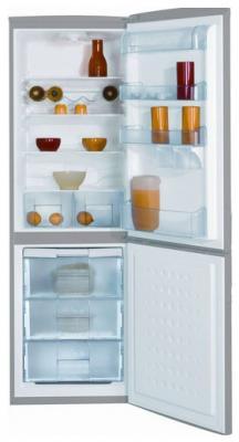 Холодильник с морозильником Beko CSK 34000 X - вид спереди