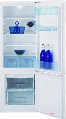 Холодильник с морозильником Beko CSK 25050 - вид c открытой дверцей