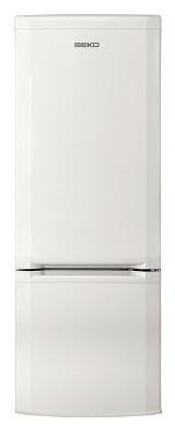Холодильник с морозильником Beko CSK 25050 - вид спереди