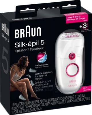 Эпилятор Braun 5280 Silk-epil 5 Legs & body (81320982) - упаковка