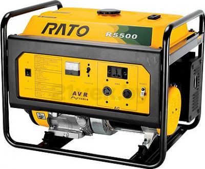 Бензиновый генератор Rato R5500D - общий вид