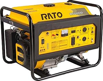 Бензиновый генератор Rato R6000D-T - общий вид
