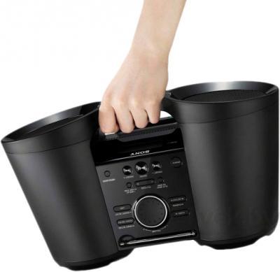 Портативная акустика Sony ZS-BTY52 - вид сбоку