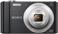 Фотоаппарат Sony Cyber-shot DSC-W810 (Black) - вид спереди