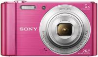 Компактный фотоаппарат Sony Cyber-shot DSC-W810 (розовый) -
