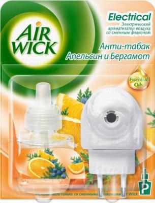 Электрический освежитель воздуха Air Wick Антитабак. Апельсин и бергамот (19мл) - общий вид