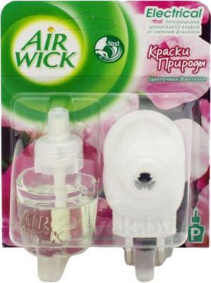 Электрический освежитель воздуха Air Wick Краски природы. Цветочная фантазия (19мл) - общий вид