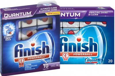 Таблетки для посудомоечных машин Finish Quantum (20+10шт) - общий вид