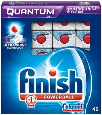 Таблетки для посудомоечных машин Finish Quantum (40шт) - общий вид