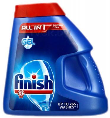 Гель для посудомоечных машин Finish All in One (1.3л) - общий вид