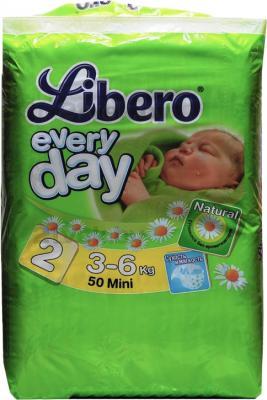 Подгузники Libero Everyday Mini 2 (50шт) - общий вид