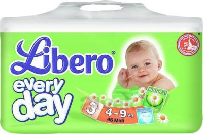 Подгузники Libero Everyday Midi 3 (46шт) - общий вид