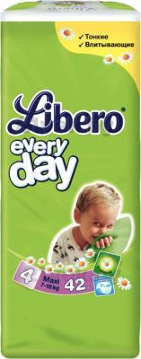 Подгузники Libero Everyday Maxi 4 (42шт) - общий вид