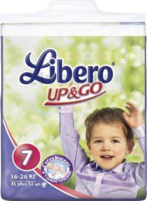 Подгузники-трусики Libero Up&Go XL Plus 7 (12шт) - общий вид
