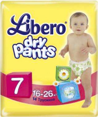 Подгузники-трусики Libero Dry Pants 7 Extra Large Plus (14шт) - общий вид