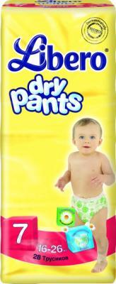 Подгузники-трусики Libero Dry Pants 7 Extra Large Plus (28шт) - общий вид