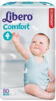 Подгузники Libero Comfort 4 Maxi (80шт) -